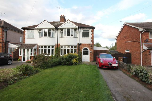 3 bed semi-detached house for sale in Hinckley Road, Barwell, Leicester