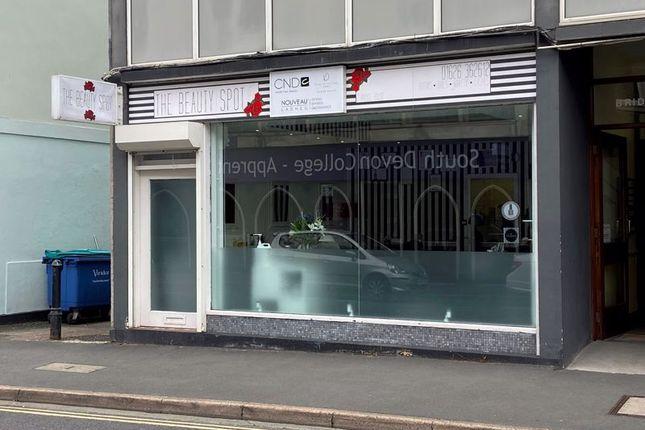Retail premises for sale in Courtenay Street, Newton Abbot