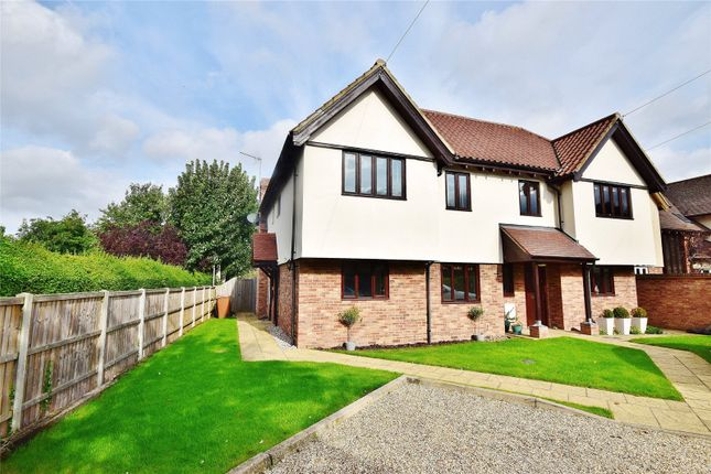 Thumbnail Semi-detached house for sale in Thornfield Road, Bishop's Stortford