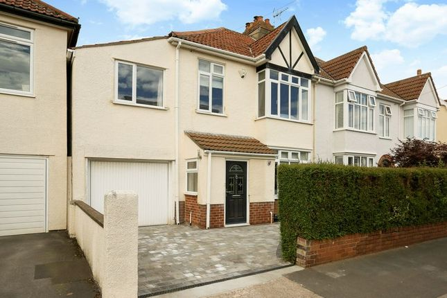 Thumbnail Semi-detached house for sale in Charlecombe Road, Westbury-On-Trym, Bristol