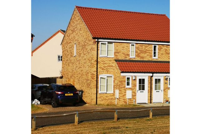 Thumbnail Semi-detached house for sale in Liz Jones Way, Aylsham, Norwich