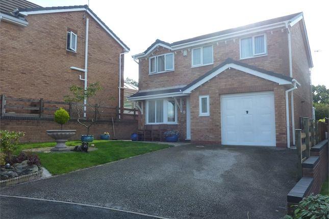 Thumbnail Detached house for sale in Kingsbury Court, Skelmersdale, Lancashire