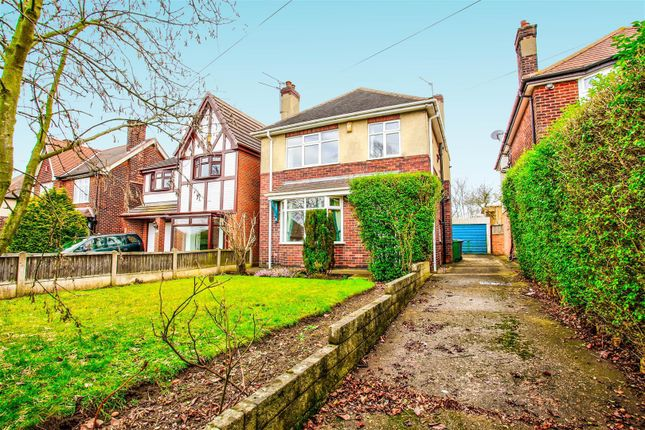 3 bed detached house for sale in Mansfield Road, Warsop, Mansfield NG20