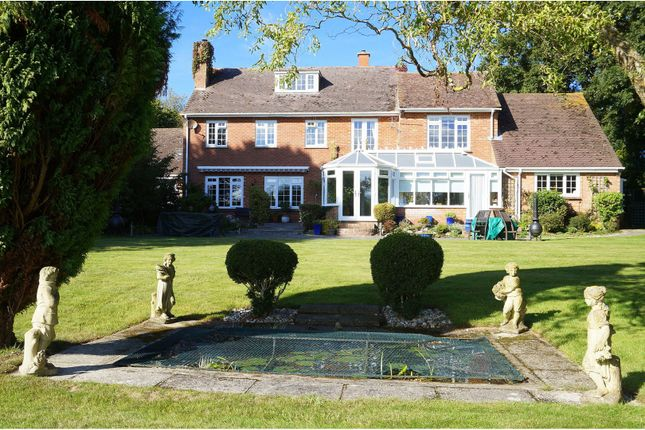 Thumbnail Detached house for sale in Lepe Road Langley, New Forest