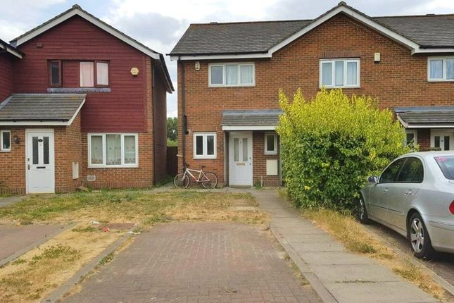 Thumbnail Terraced house to rent in Meadowford Close, London