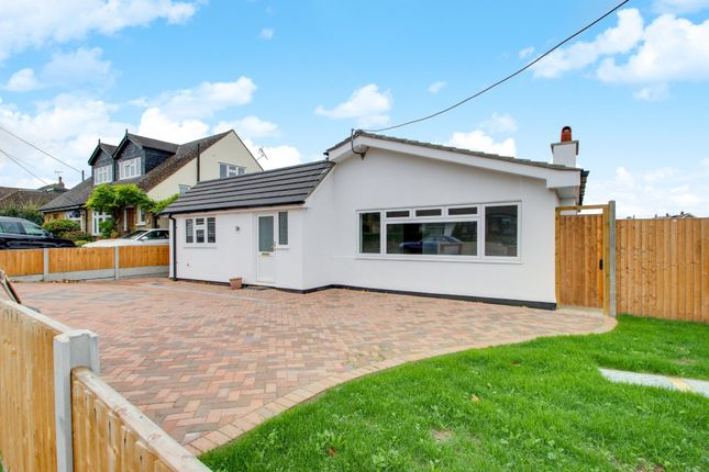 Thumbnail Detached bungalow for sale in Homefields Avenue, Benfleet