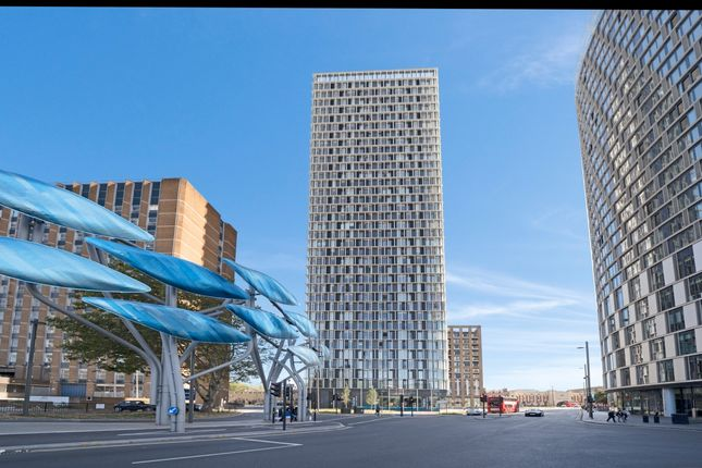 Exterior of Stratosphere Tower, Great Eastern Road, Stratford E15
