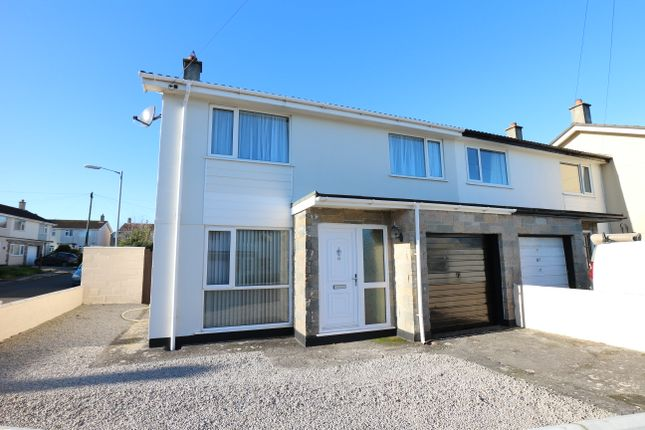 3 bed end terrace house for sale in Pendrea Park, North Roskear, Camborne TR14