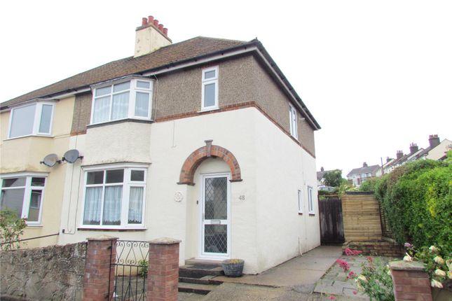 Thumbnail Semi-detached house to rent in Una Road, Parkeston, Harwich, Essex