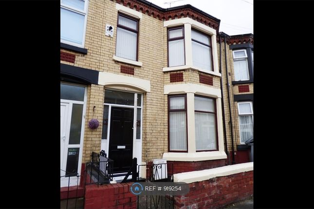 3 bed terraced house to rent in Clarence Road, Wallasey CH44