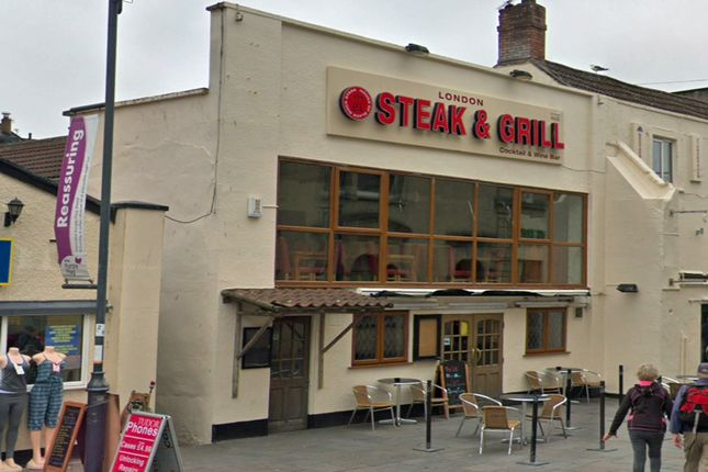 Thumbnail Restaurant/cafe for sale in 112 - 114 Hih Street, Weston Super Mare