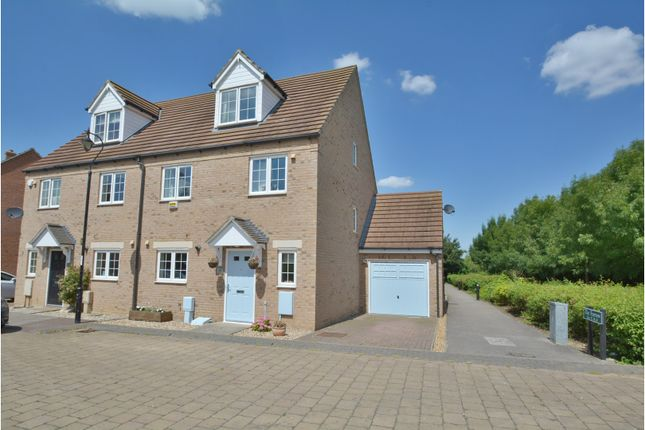 Thumbnail Semi-detached house for sale in The Furrow, Littleport