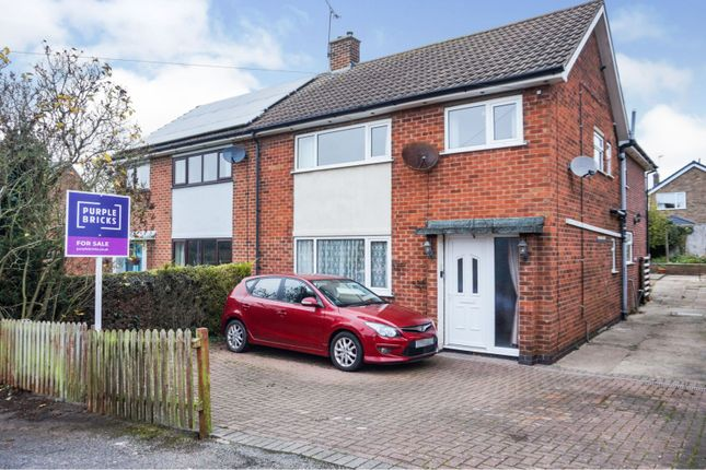 4 bed semi-detached house for sale in Barker Hill, Lowdham, Nottingham NG14