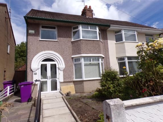 Thumbnail Semi-detached house for sale in Cranford Road, Liverpool, Merseyside