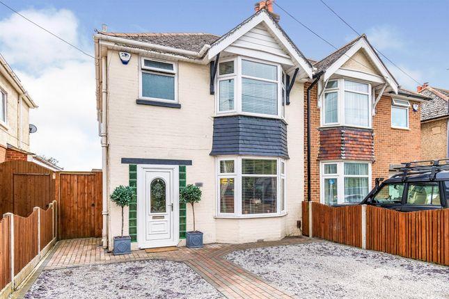 Thumbnail Semi-detached house for sale in Upper Weston Lane, Southampton