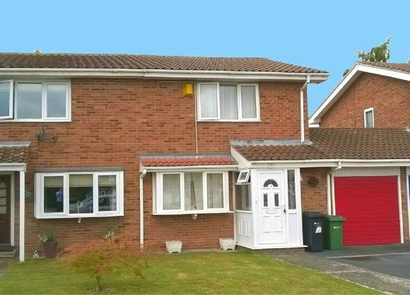 Thumbnail Semi-detached house to rent in Grandstand Road, Hereford