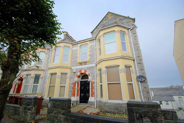 Thumbnail Maisonette for sale in Houndiscombe Road, Mutley, Plymouth