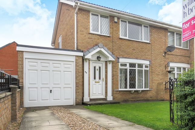 Semi-detached house for sale in Longdale Drive, South Elmsall, Pontefract