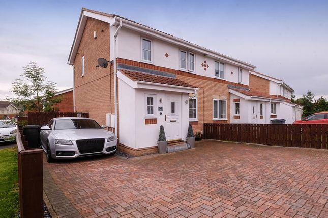 Thumbnail Semi-detached house for sale in Redewood Close, Slatyford, Newcastle Upon Tyne