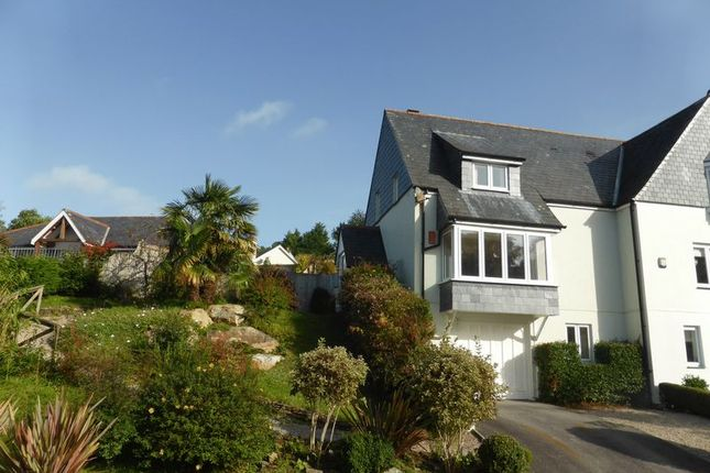 Thumbnail Semi-detached house for sale in Grenville Meadows, Lostwithiel