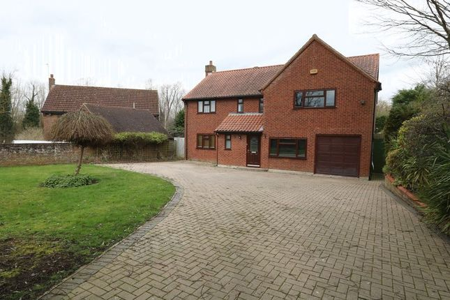 Thumbnail Detached house to rent in Abbey Road, Bradwell, Milton Keynes