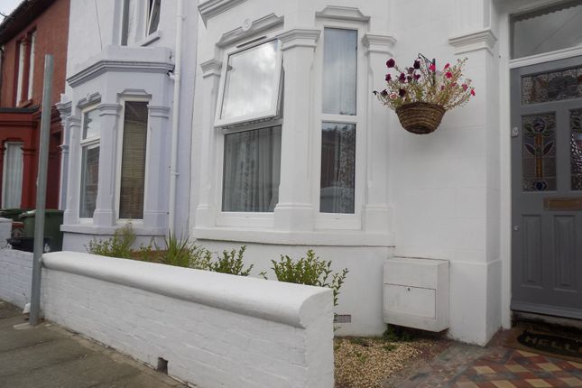 Thumbnail End terrace house to rent in Telephone Road, Southsea