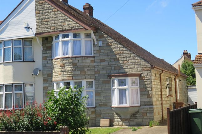 Thumbnail Semi-detached house for sale in Cambridge Avenue, Welling, Kent