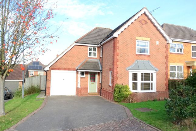 Thumbnail Detached house to rent in Haggs Meadow, Worcester, Worcestershire
