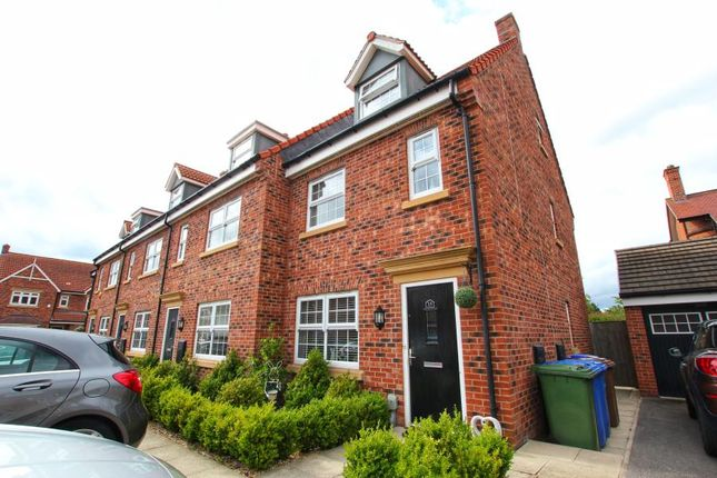 Thumbnail End terrace house to rent in Cleminson Gardens, Cottingham