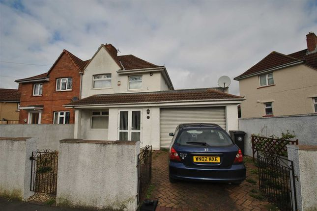 3 bed semi-detached house for sale in Leinster Avenue, Knowle West, Bristol