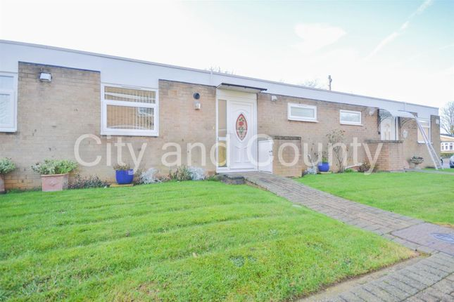 Thumbnail Terraced bungalow for sale in Ledbury Road, Peterborough