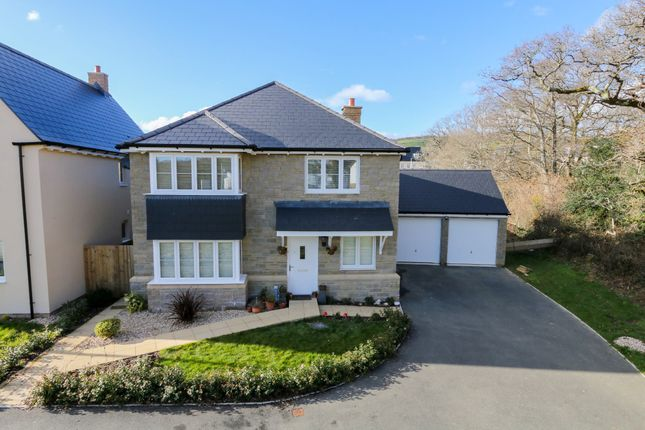 Thumbnail Detached house for sale in Centenary Way, Bovey Tracey, Newton Abbot