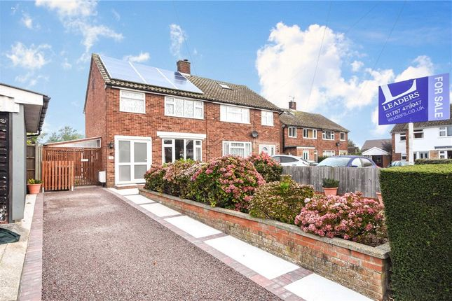 Thumbnail Semi-detached house for sale in Conway Close, Halstead, Essex