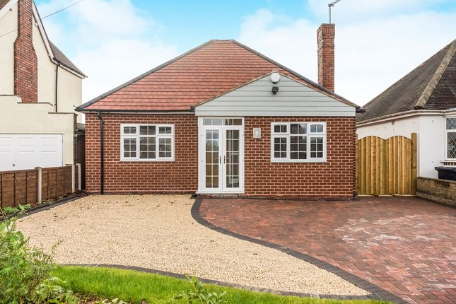 Thumbnail Detached bungalow for sale in Amblecote Road, Brierley Hill