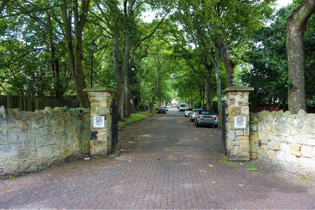 Gated Entrance of Park Place West, Sunderland SR2