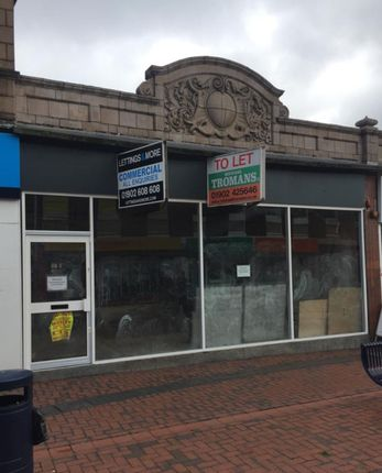 Thumbnail Retail premises to let in Church Street, Bilston