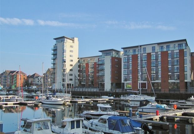 Thumbnail Flat for sale in Meridian Wharf, Maritime Quarter, Swansea