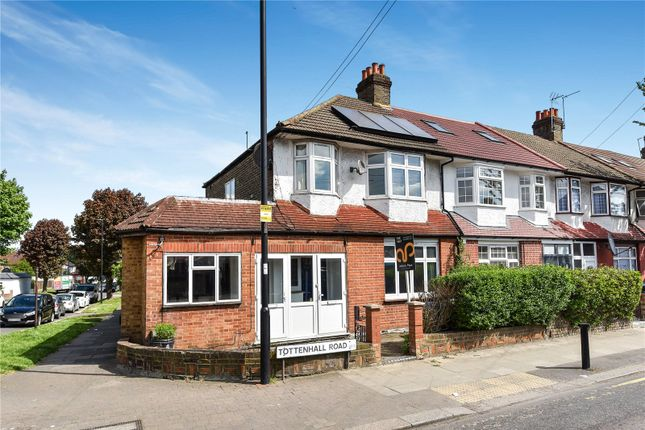 Thumbnail End terrace house for sale in Tottenhall Road, Palmers Green, London