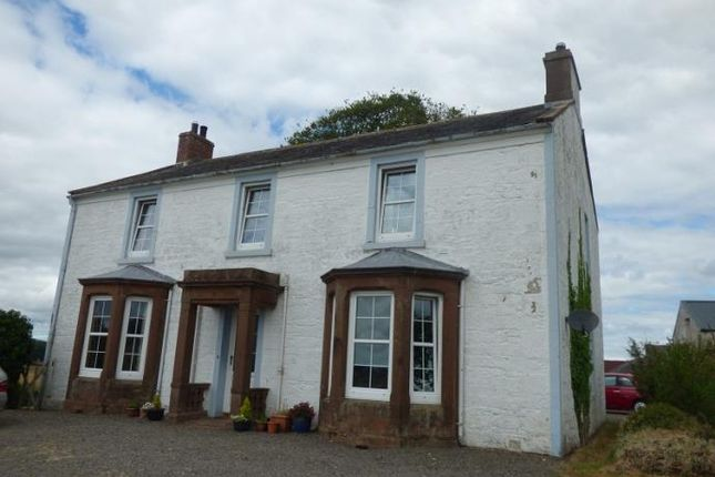 Thumbnail Detached house to rent in Tinwald Parks Farmhouse, Tinwald, Dumfries