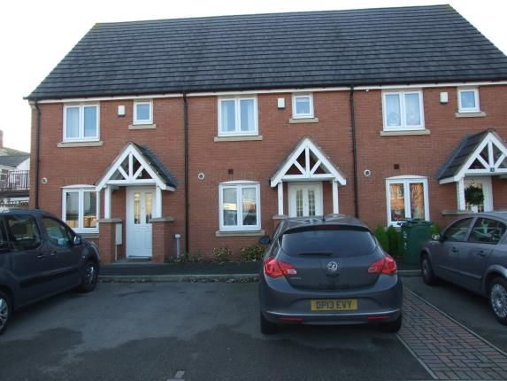 Thumbnail Terraced house for sale in Graham Perkins Close, Shepshed, Loughborough, Leicestershire