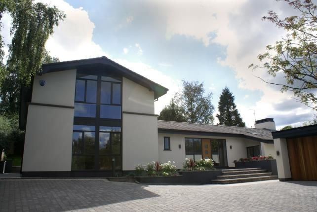 Thumbnail Detached house for sale in Macclesfield Road, Alderley Edge, Cheshire
