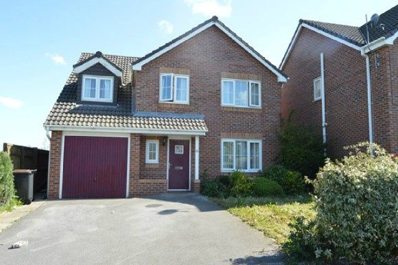 Thumbnail Detached house to rent in Galingale View, Near Keele, Newcastle-Under-Lyme