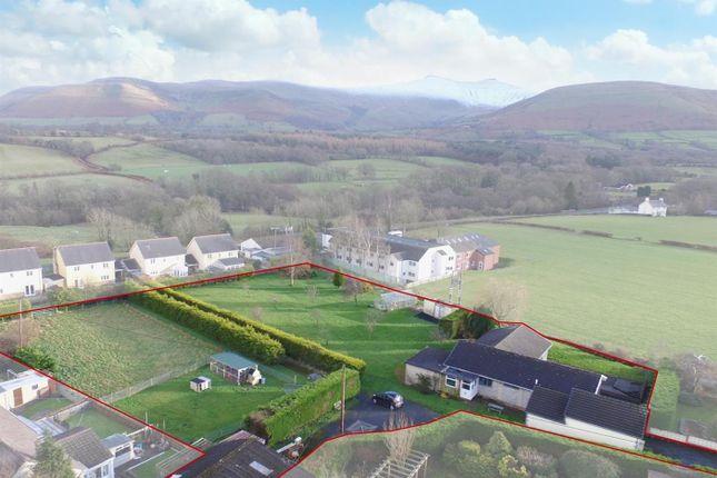 Thumbnail Detached bungalow for sale in Libanus, Brecon