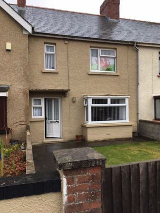 Thumbnail Terraced house to rent in Portfield Avenue, Haverfordwest