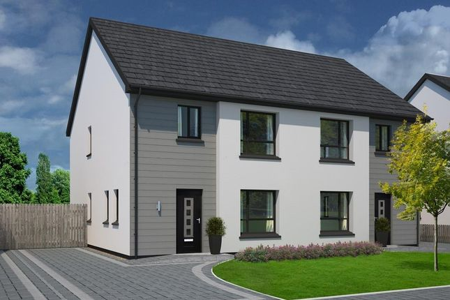 Thumbnail Semi-detached house for sale in Plot 20, The Meadows, Douglas Road, Castletown
