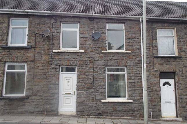 Thumbnail Terraced house to rent in Grovefield Terrace, Tonypandy