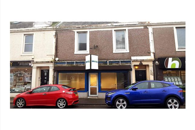 Retail premises for sale in Hamilton Street, Saltcoats
