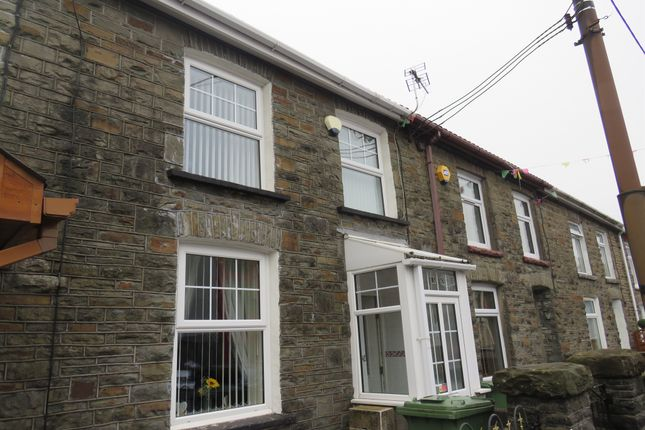 Terraced house for sale in Llantrisant Road, Tonyrefail, Porth