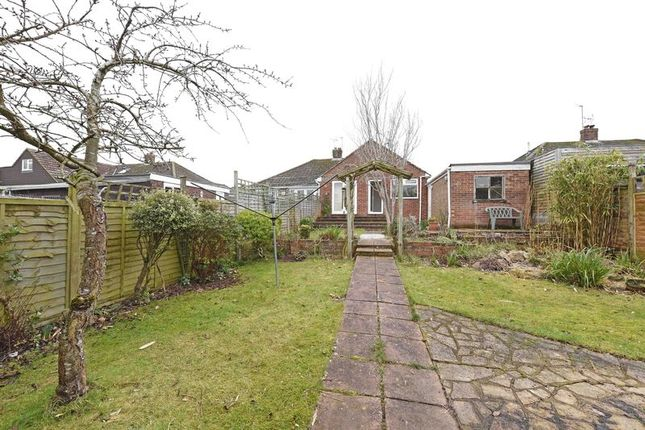 Thumbnail Semi-detached bungalow for sale in Pitman Close, Basingstoke