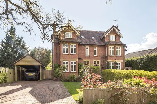 Thumbnail Semi-detached house for sale in Luton Road, Harpenden